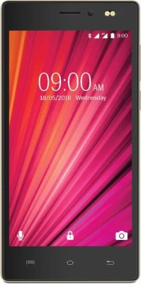 Lava X17 4G with VoLTE (Champagne & Gold, 8 GB)(1 GB RAM)