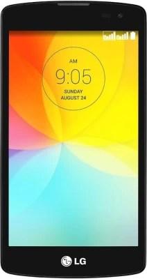LG L Fino (Black & White, 4 GB)(1 GB RAM)