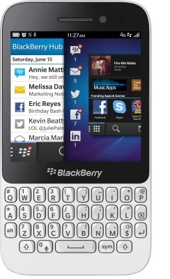 Blackberry Q5 (White, 8 GB)(2 GB RAM)