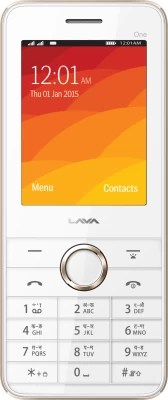 Lava Spark One(White & Gold)