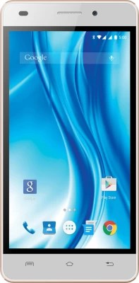 Lava X3 (White & Gold, 8 GB)(2 GB RAM)