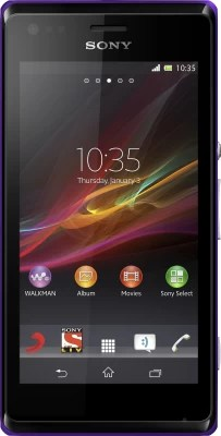 Sony Xperia M Dual (Purple, 4 GB)(1 GB RAM)