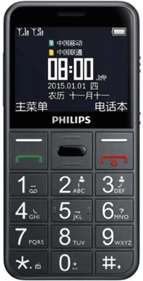 Philips E 310 Mobile Phone(Grey)