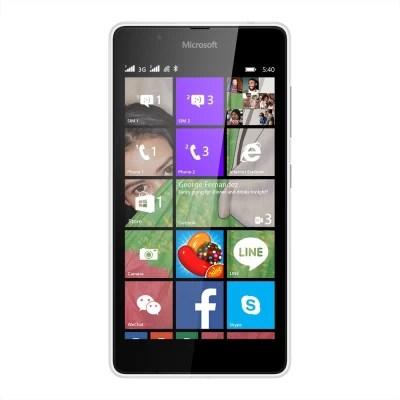 Microsoft Lumia 540 (White, 8 GB)(1 GB RAM)