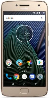 Moto G5 Plus (Fine Gold, 32 GB)(4 GB RAM)