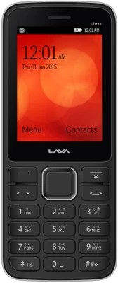 Lava KKT Ultra Plus(Black & Grey)