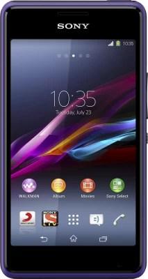 Sony Xperia E1 Dual (Purple, 4 GB)(512 MB RAM)
