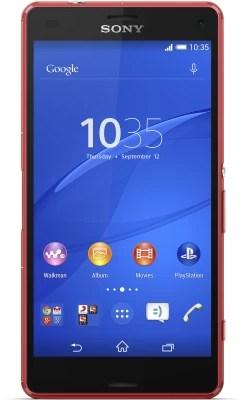 Sony Xperia Z3 Compact (Orange, 16 GB)(2 GB RAM)