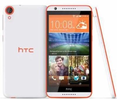 HTC Desire 820S (White&Orange, 16 GB)(2 GB RAM)