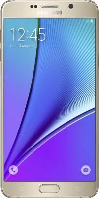 Samsung Galaxy Note 5 (Dual Sim) (Gold Platinum, 64 GB)(4 GB RAM)