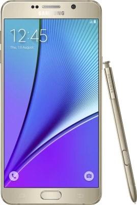 Samsung Galaxy Note 5 (Dual Sim) (Gold Platinum, 32 GB)(4 GB RAM)
