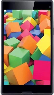 Iball Slide Cuboid 16 GB 8 inch with Wi-Fi+4G(Metallic Grey)