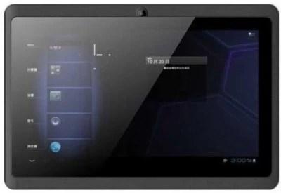 Vizio VZ-K01 4 GB 7 inch with Wi-Fi+3G(Black)