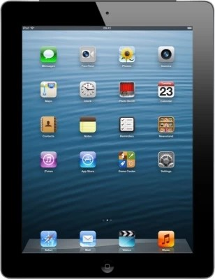 Apple 16GB iPad with Retina Display and Wi-Fi Cellular(Black)