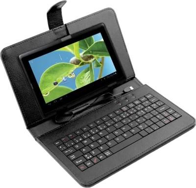 Datawind Vidya Tablet with Keyboard 4 GB 7 inch with Wi-Fi Only(Black)