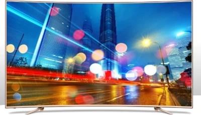 Sansui 139cm (55) Ultra HD (4K) Curved LED Smart TV(SNC55CX0ZSA/UHDTVSNC55CX0ZSA)