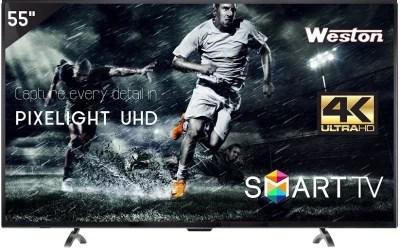 Weston 140cm (55) Ultra HD (4K) LED Smart TV(WEL-5500)