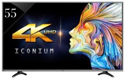 Vu 140cm (55) Ultra HD (4K) LED Smart TV(LTDN55XT780XWAU3D)