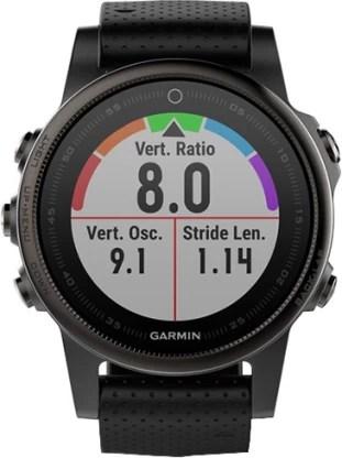 Garmin Fenix 5s Sapphire Smartwatch(Black Strap, Regular)