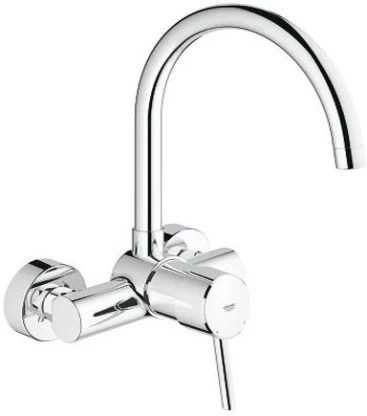 grohe 32667001 concetto kitchen high