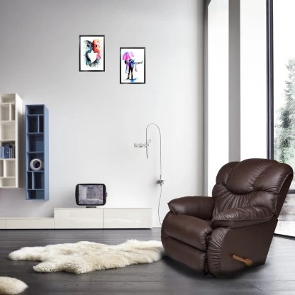 La-Z-Boy Dreamtime Leatherette Manual Rocker Recliners Recliner