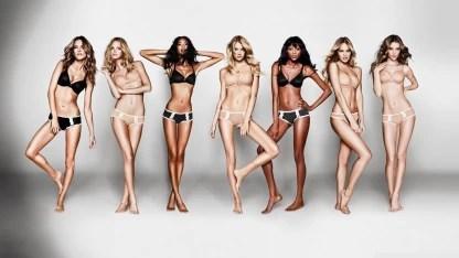 victoria secret models wall poster