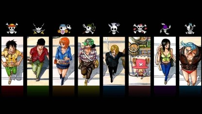 13) and episode 408, luffy eats a boar and mushrooms. Akhuratha Anime Chopper Monkey D Luffy Nami One Piece Nico Robin One Piece Pirates Roronoa Zoro Sanji One Piece Straw Hat Ussop Wall Poster Paper Print Animation Cartoons Posters In India Buy Art Film Design Movie Music Nature And