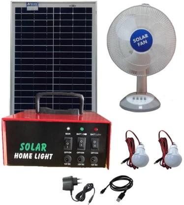 belifal solar home lighting system with 12v dc led bulb 2pcs table fan 12v 7ah battery including solar charge controller solar panel solar light