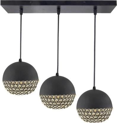 homesake 3 lights linear cluster chandelier crystal hanging globe hanging pendant light kitchen area and dining room light pendants ceiling lamp