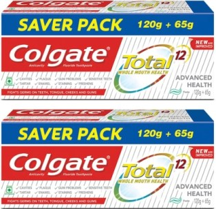 Colgate Total Advance Health Toothpaste - 185 g (Pack of 2)