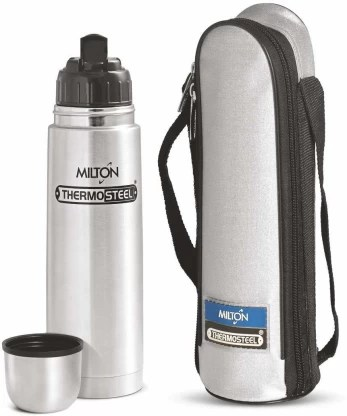 Milton Thermosteel Flip Lid Flask, 750 milliliters, 24 Hour Hot & Cold 750 ml Flask