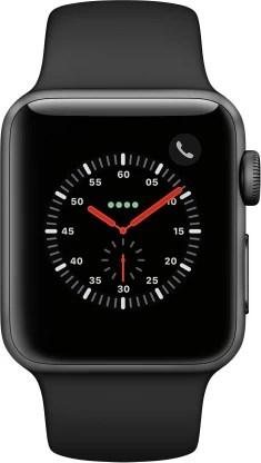 Apple Watch Series 3 GPS + Cellular 38 mm Aluminium Case