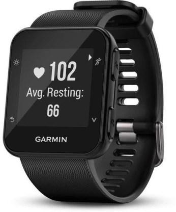 Garmin Forerunner 35 Smartwatch(Black Strap, Regular)