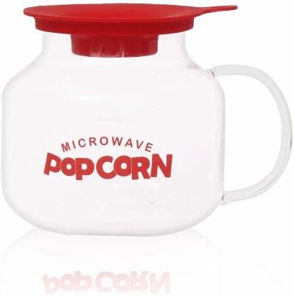 femora borosilicate glass microwave safe popcorn marker serving 4 ppl fmprcnm 2000 l popcorn maker