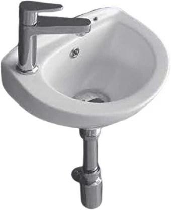 wall hung wash basin dimension