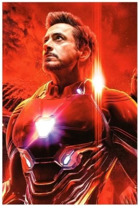 iron man avengers movie poster
