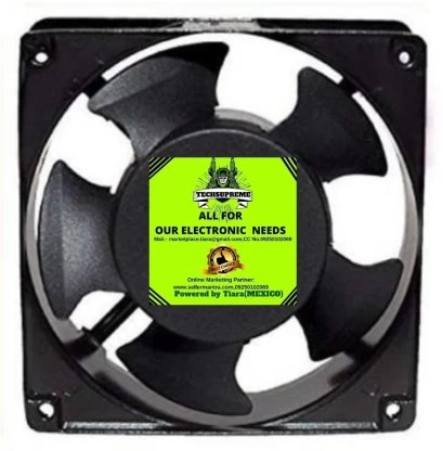 techsupreme ac 220v size 4 75 inches 120x120x38 ac fan axial cooling blower exhaust fan 110 mm exhaust fan