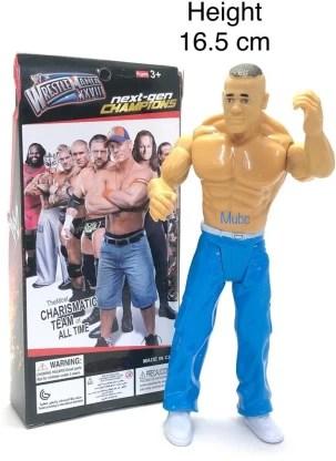 Mubco Action Figure John Cena Wrestle Mania Xxviii