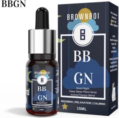 brownboi bbgn good night deep sleep pillow spray aromatherapy essential oil blend