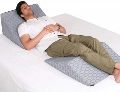 metron foam bed wedge pillow set