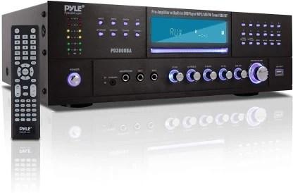 audio receiver w fm radio