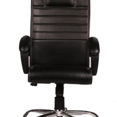 Revolving Chair Without Wheels West Elm Cushions Office Study Chairs Buy Featherlite Online At Best Ks Leatherette Arm