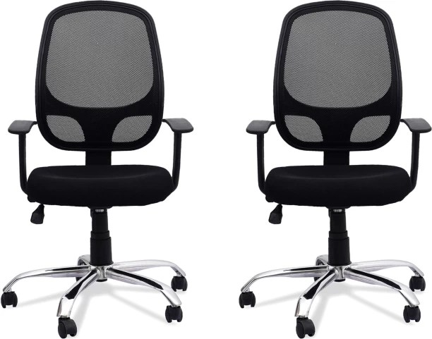 rolling chair accessories in chennai upholstery fabric office study chairs buy featherlite online at best dzyn furnitures linen executive