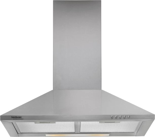 kitchen chimney without exhaust pipe best buy appliances online at low prices in india hindware clarissa ss 60 wall mounted