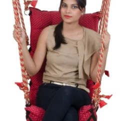 Hanging Chair Flipkart Folding Bag Hammocks Swings Buy Online At Best Prices In India Smart Beans Royal Swing Hammock Red Cotton