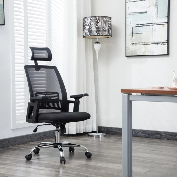 rolling chair accessories in chennai beige wingback office study chairs buy featherlite online at best flipkart perfect homes howard fabric executive
