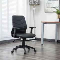 Chair Arm Table Attachment High Lift Office Study Chairs Buy Featherlite Online At Best Flipkart Perfect Homes Warren Leatherette