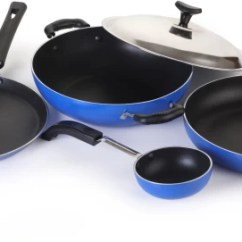 Kitchen Pot Sets Window Treatment Ideas For Cookware Online Non Stick At Crystal Eco Series Set