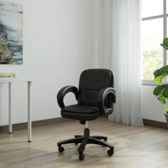 Best Ergonomic Chairs In India Black Velvet Office Study Buy Featherlite Online At Dzyn Furnitures Leatherette Executive Chair