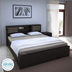 Indian L Shaped Sofa Design Sleeper Bed Full Beds Buy ब ड Online At Best Prices In India Flipkart Perfect Homes Waltz Engineered Wood King Box